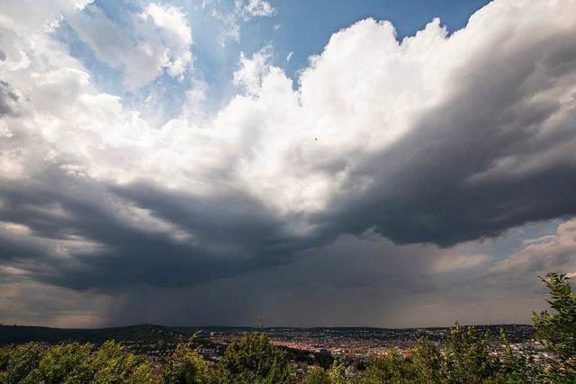 Gewitter und Starkregen am Nachmittag auch in Baden-Württemberg möglich