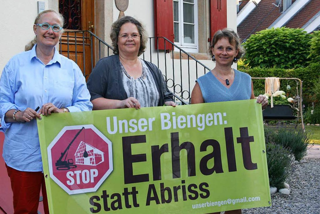Kämpfen für den Erhalt des dörflichen ...fanie Meisen und Brigitte Duftschmid.   | Foto: Martina Faller