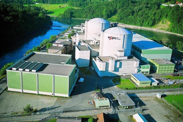 Atomkraftwerk Beznau reduziert Leistung wegen der Hitze