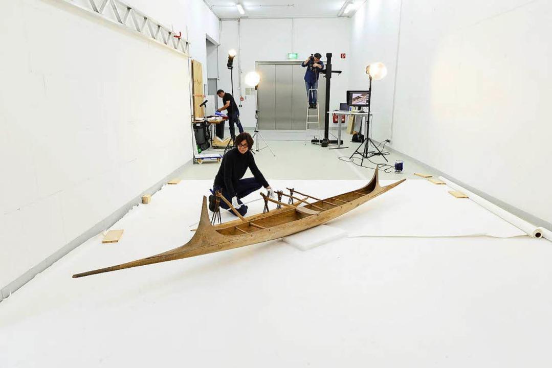 Die Digitalisierung von Kunstobjekten,... mit einem gewissen Aufwand verbunden.  | Foto: Ingo Schneider