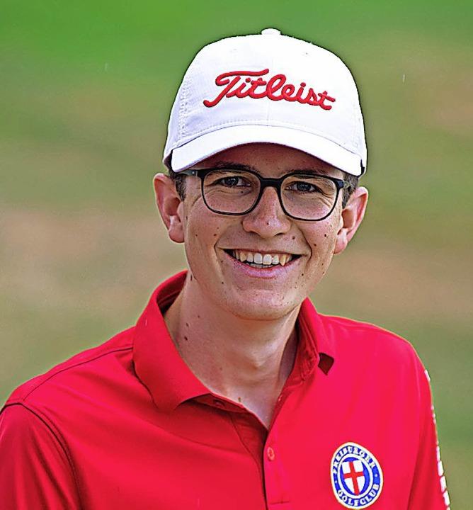 Golftalent: der 18-jährige Alexander Z... aus Oberried spielt mit Handicap 6,5.  | Foto: scheu