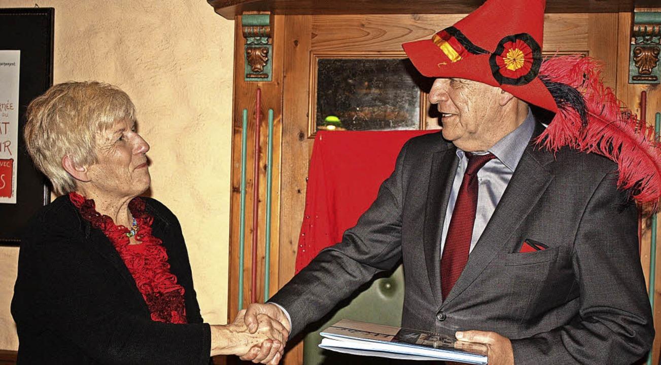 Der SPD-Landtagsabgeordnete und früher...r SPD den Gustav-Struve-Hut verliehen.    Foto: Archivfoto: Barbara Schmidt