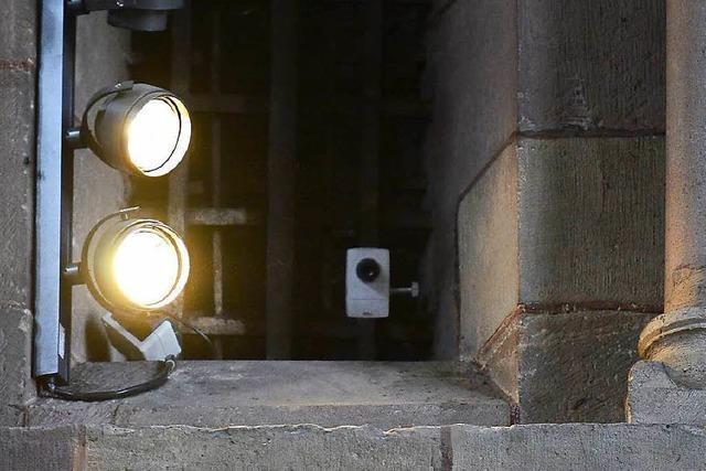 Die Videoüberwachung im Münster ist zugleich normal und ungeheuerlich