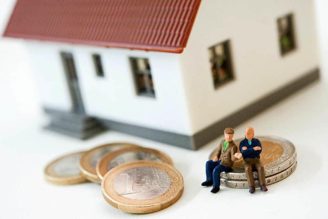 Auch im  Alter kann man sich den Traum...tzt, die Finanzierung ist gut geplant.  | Foto: andreas Warnecke, dpa