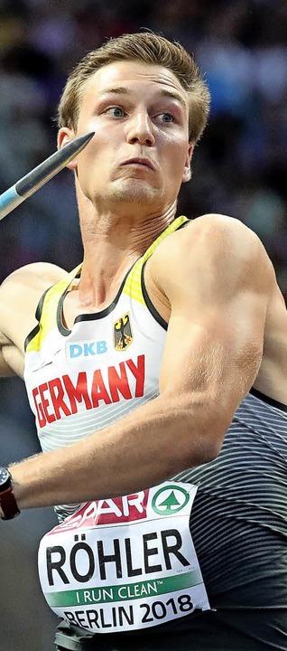 Der Olympiasieger ist nun auch Europameister: Thomas Röhler  | Foto: dpa