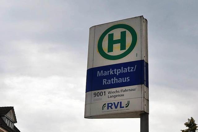 Ärger um stillgelegte Citybus-Haltestelle am Schopfheimer Marktplatz