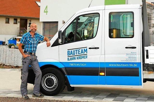 Neues Bauunternehmen in Ewattingen