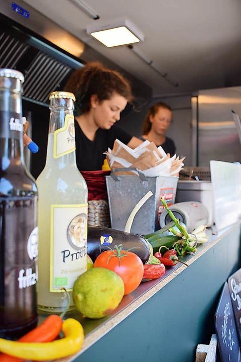 Alles frisch beim Food Truck Fest am Samstag in Krozingen  | Foto: F. Schoch