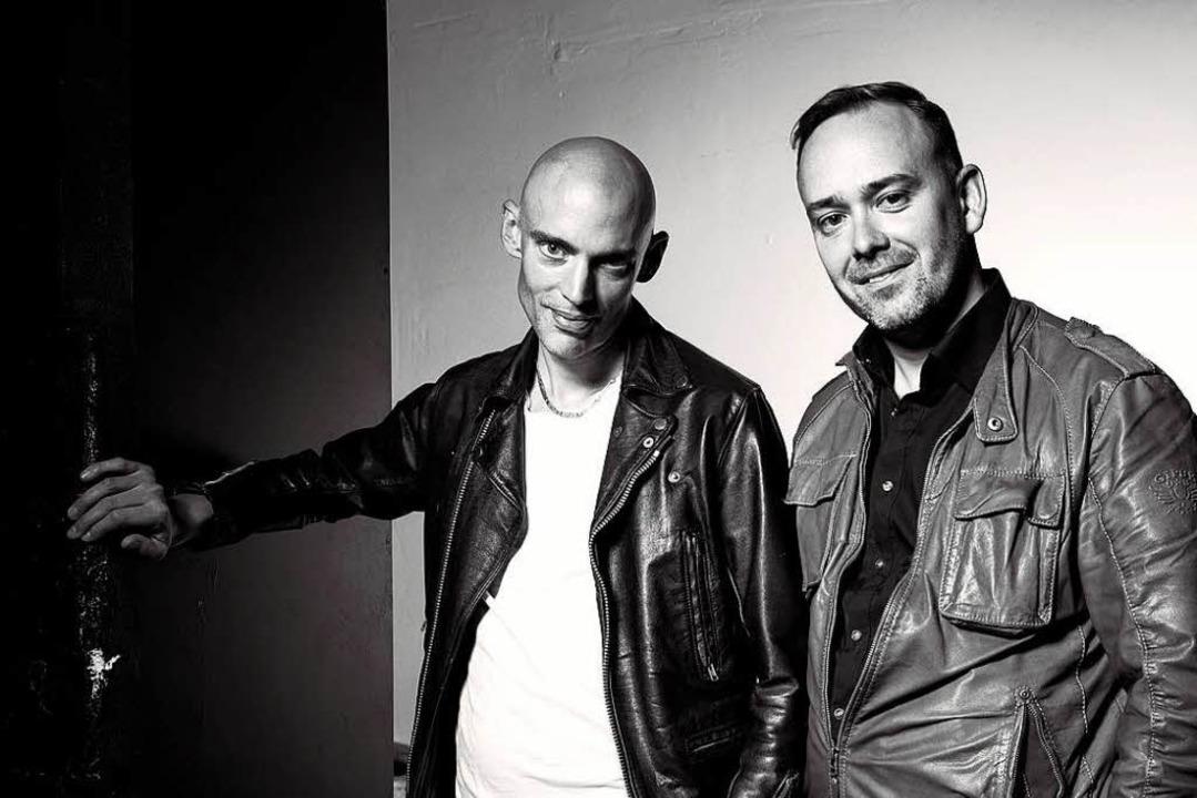 Die Immoralisten: Florian Wetter (links) und Manuel  Kreitmeier   | Foto: Meiser