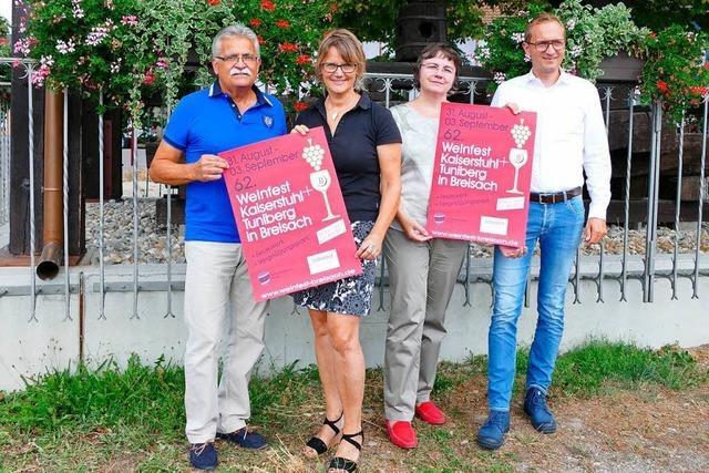 Wenig Änderungen beim Bezirksweinfest in Breisach