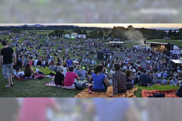 Acht Bands rocken den Tafelberg