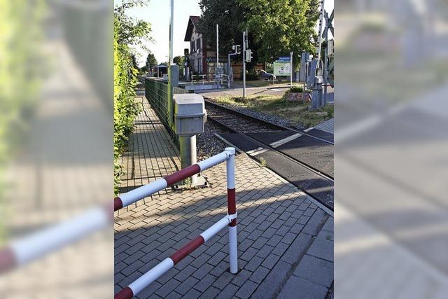 Erneute Petition gegen Bahnsteigbau