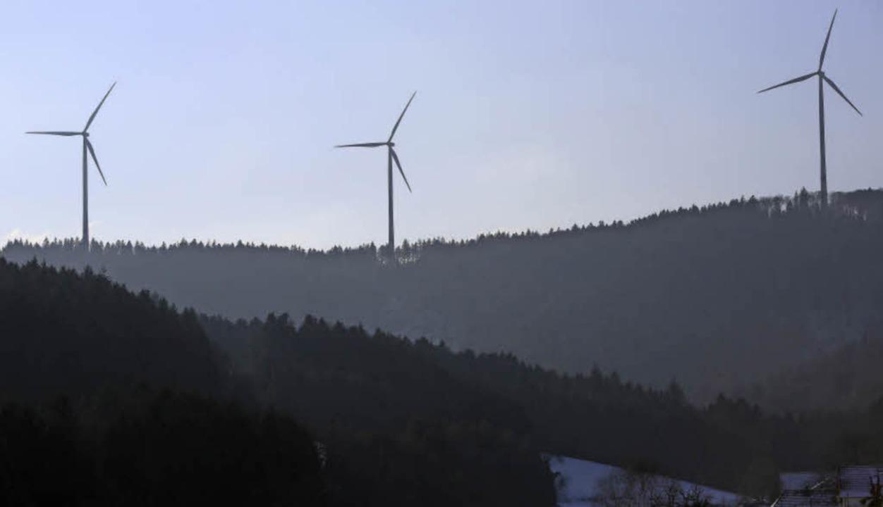 Windräder im Bürgerwindpark Südliche Ortenau  | Foto: Susanne Gilg