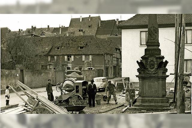 Alte Fotos vom Denkmal