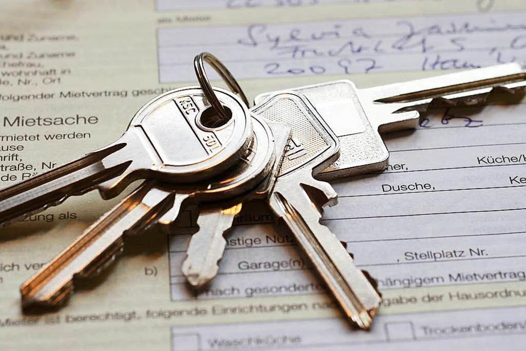 Wie entwickelt sich die Situation bei Mietwohnungen?  | Foto: Matthias Stolt / adobe.com