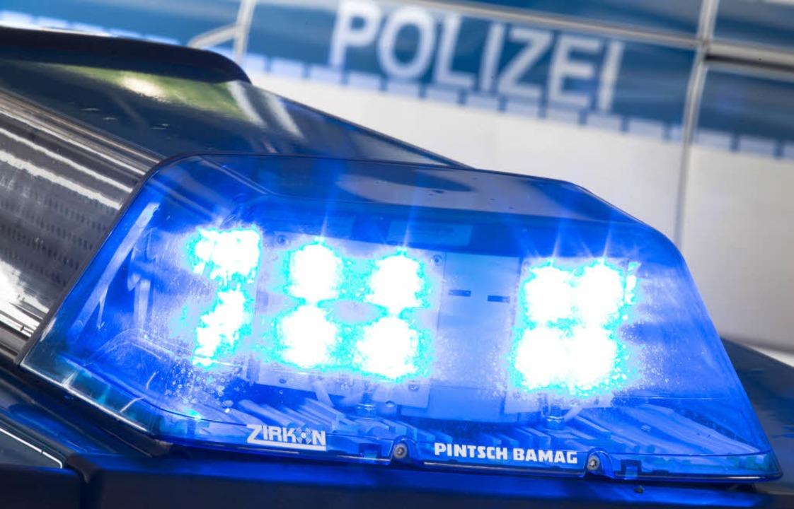 Offenburger Polizei schnappt Diebe nach wilder Verfolgungsjagd    Foto: dpa