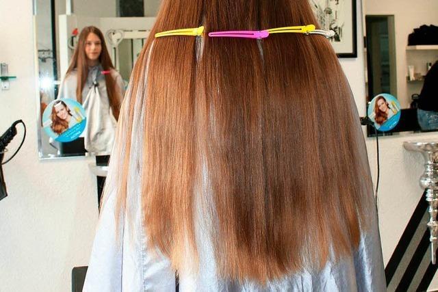 Die zwölfjährige Lenja aus Schopfheim hat ihre Haare gespendet