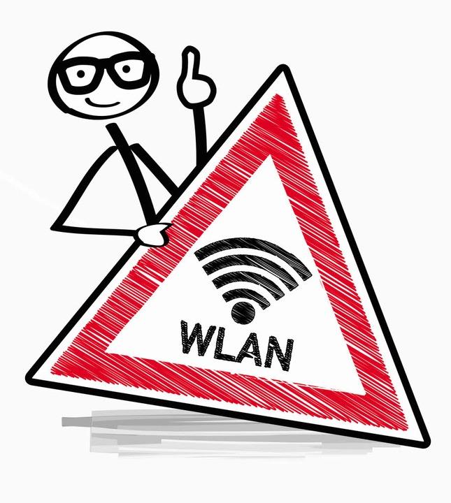 Die Verschlüsselung ist für das WLAN entscheidend.  | Foto: Illustration:adobe.com