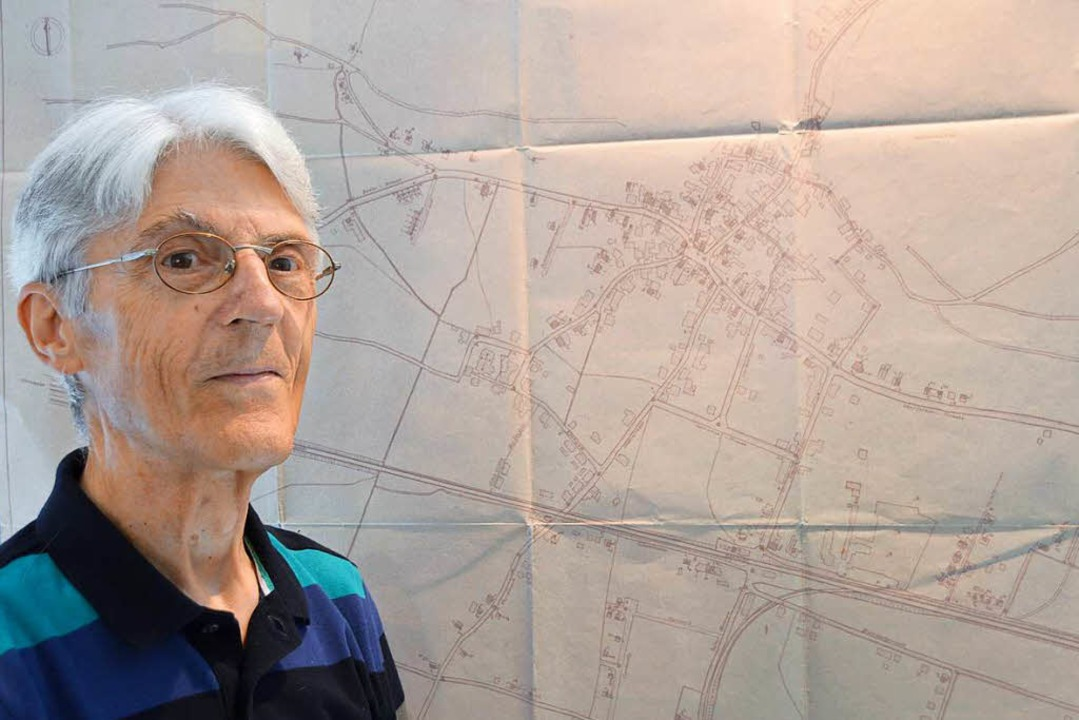 Der 77-jährige Benno Westermann hat se...en, und Schutz in einem Bunker suchen.  | Foto: Horatio Gollin