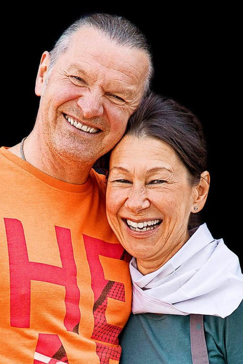 Hoch engagiert,  tief entspannt:  Reimund und Susanne Vogt  | Foto: Michael Wissing
