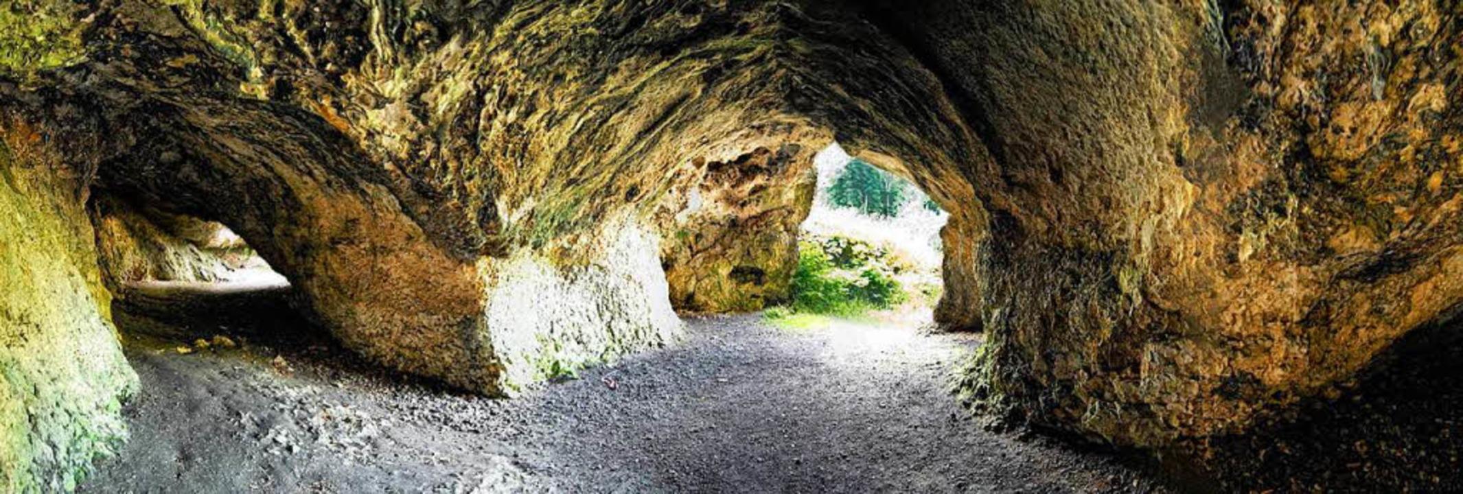 Der Vogelherd ist der ergiebigste Fundort unter den neuen Unesco-Höhlen.  | Foto: Guido Serino / Landratsamt Heidenheim