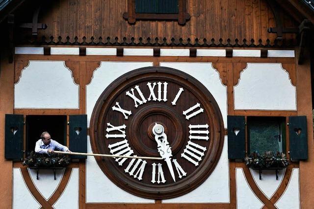 An der Uhr drehen oder nicht?