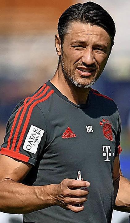 Bayern-Coach Kovac  | Foto:  afp