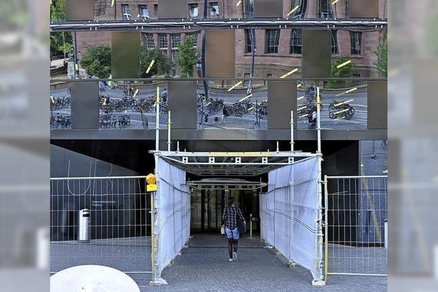 Tunnel in die UB