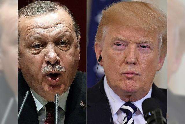 Erdogan droht den USA