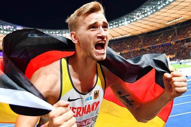 Hochspringer Mateusz Przybylko gewinnt sensationell EM-Gold