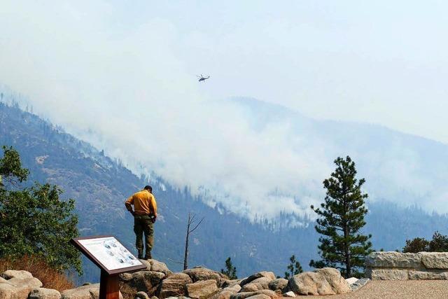 Geisterpark Yosemite Valley – Waldbrände legen Kalifornien lahm