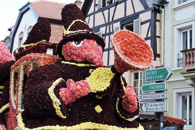 Blumenkorso in Sélestat