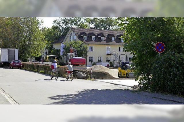 Gehweg macht Mühlenstraße sicherer