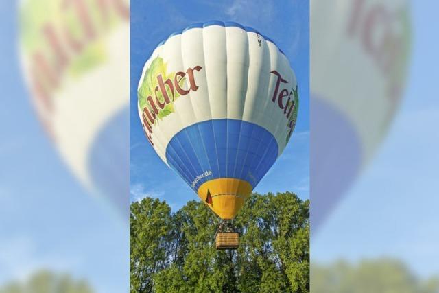 Mit dem Ballon in luftigen Höhen