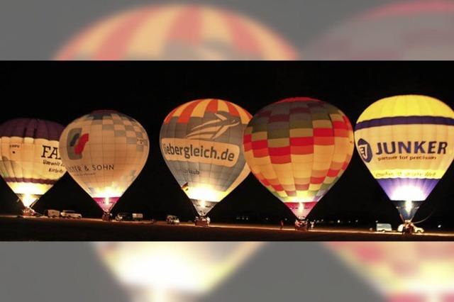 Ballonglühen in Altenheim