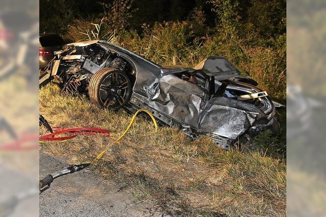 Fünf Fahrzeuge in Unfall verwickelt