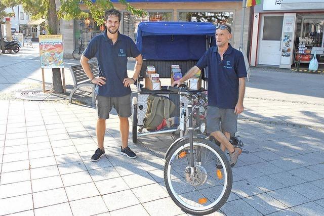 Mobile Jugendarbeit mit der Rikscha