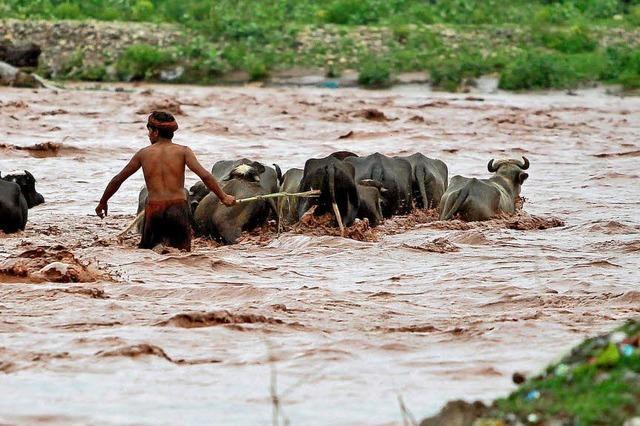 Dutzende Tote bei Überschwemmungen in Südindien