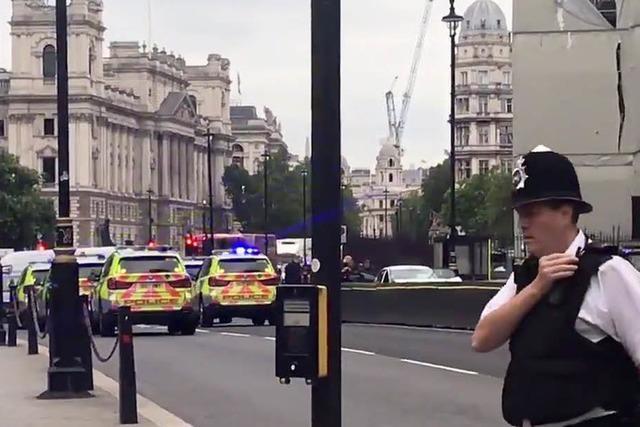 Anti-Terror-Polizei ermittelt nach Attacke mit Auto in London