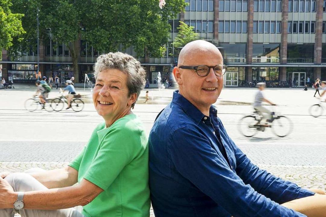 Rücken die Bedürfnisse  in den Fokus: ...elser-Schweigler und Herbert Köpfler.   | Foto: Daniel Schoenen