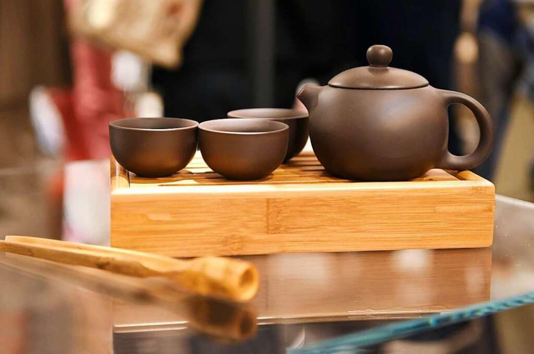 Utensilien einer Teezeremonie  | Foto: Rita Eggstein