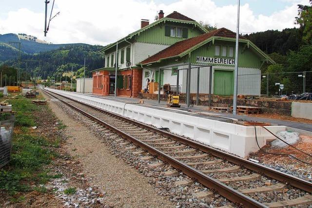 Die Höllentalbahn wird zum 1. November fertig, sagt der Projektleiter