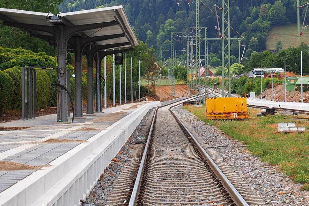 Bahnsteig Himmelreich  | Foto: Markus Donner