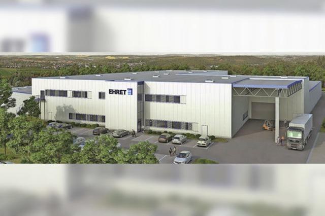 Ehret investiert Millionen in den Standort Mahlberg