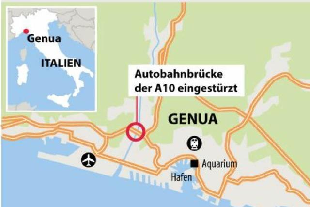 Nach Brückeneinsturz: Wie Reisende Genua umfahren können