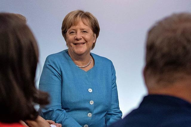 Eine Doppelstunde Gemeinschaftskunde mit Angela Merkel