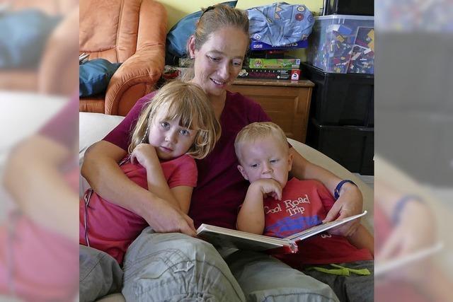 Wie eine Mutter mit vielen Kindern