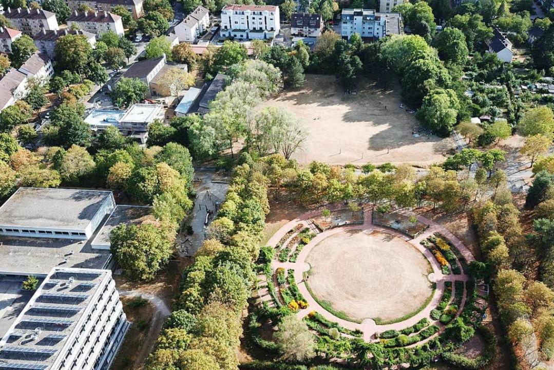 Blühende Landschaften sehen anders aus: Eschholzpark  | Foto: Michael Saurer