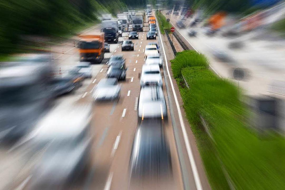 Weniger Autos, bessere Luft – wi...ten, drei davon in Baden-Württemberg.   | Foto: dpa