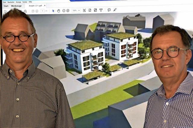 Pläne für 16 Wohnungen